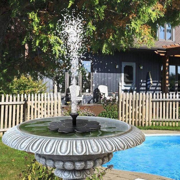 Solar Water Fountain Pump For Garden