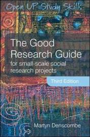 The Good Research Guide by Martyn Denscombe image