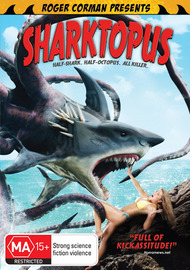 Sharktopus on DVD