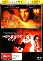 Reign of Fire/Resident Evil on DVD