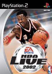 NBA Live 2002 for PS2