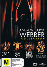 Andrew Lloyd Webber - Stage Favourites (Cats / Jesus Christ Superstar / Joseph and the Technicolour Dreamcoat) DVD