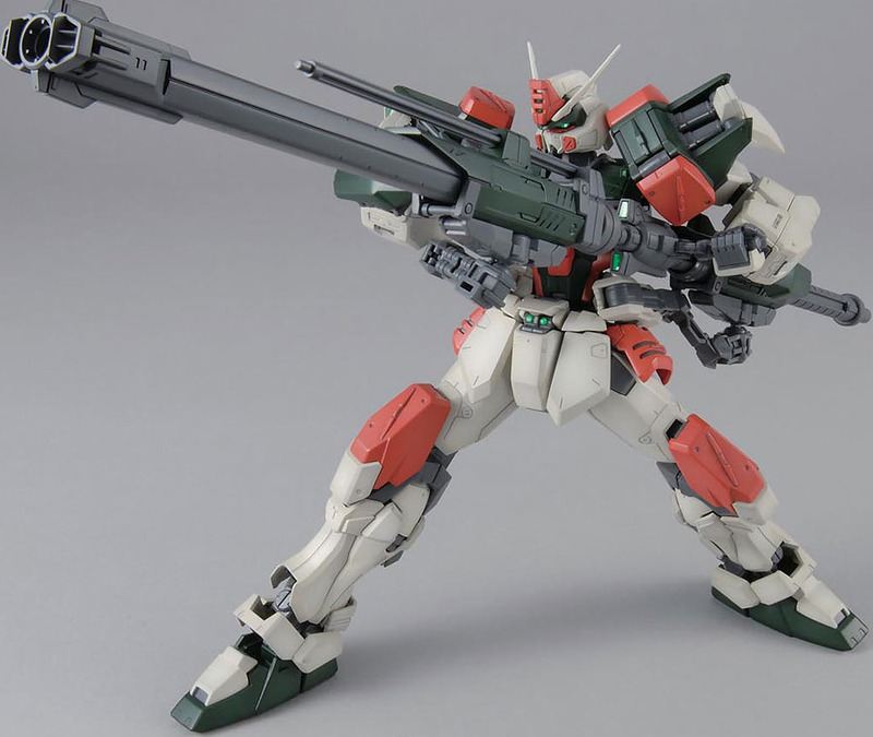 MG 1/100 Buster Gundam - Model Kit image