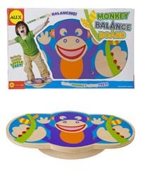 Alex: Monkey Balance Board