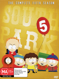South Park - The Complete 5th Season (3 Disc Box Set) on DVD