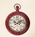 Olde Worlde Metal Wall Clock