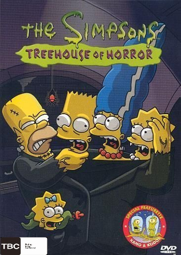 The Simpsons - Tree House of Horror on DVD