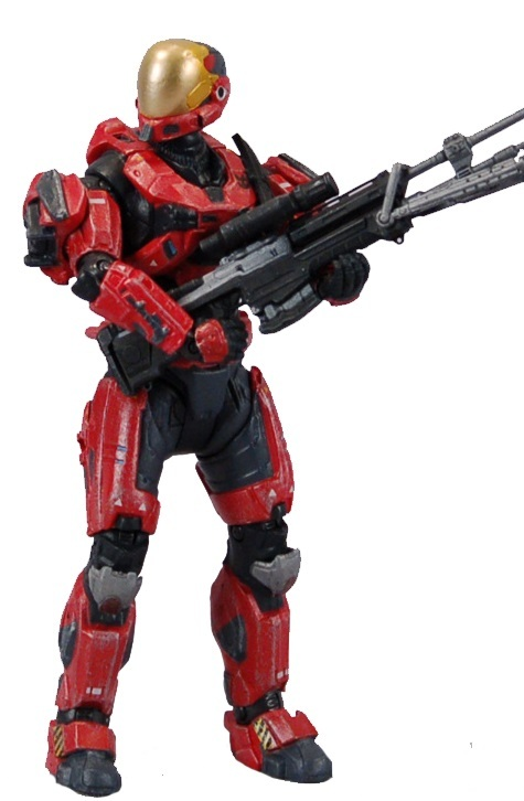 Halo Spartan Eva Team Red Exclusive Figure for