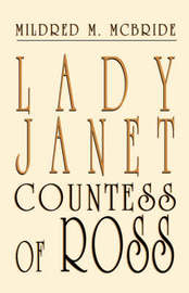 Lady Janet, Countess of Ross by Mildred M McBride image