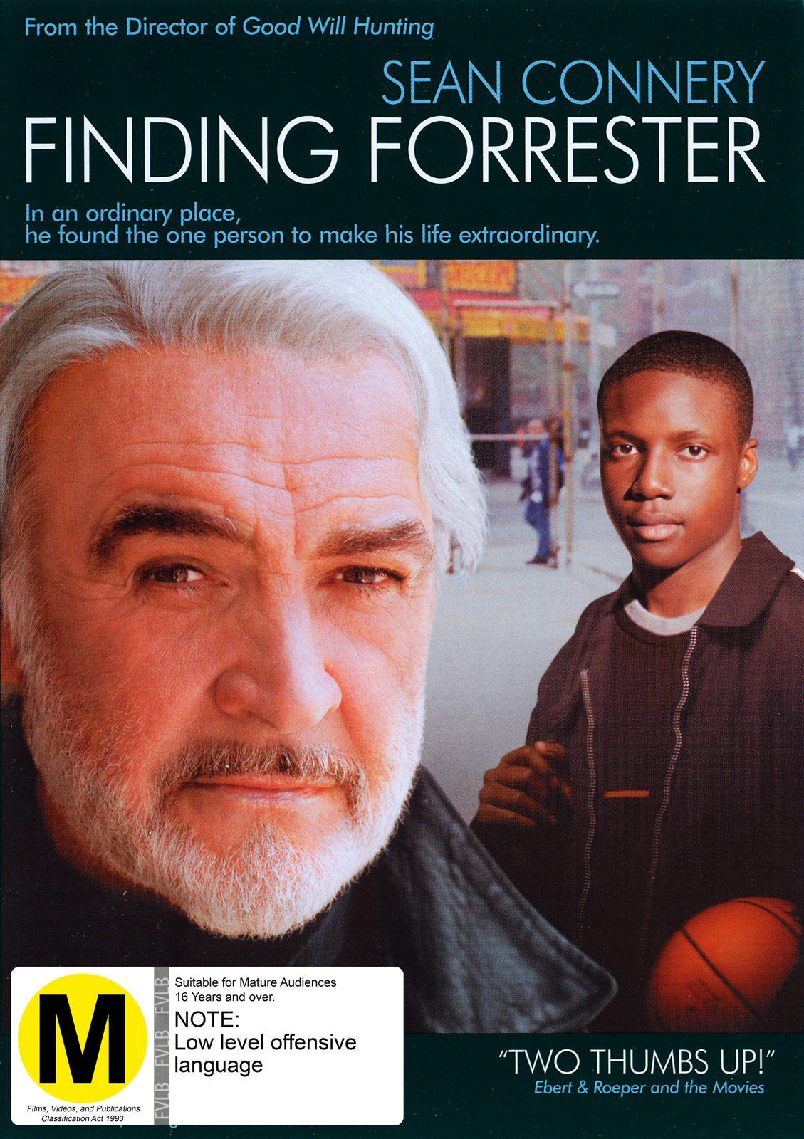Finding Forrester on DVD image