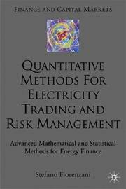 Quantitative Methods for Electricity Trading and Risk Management by Stefano Fiorenzani image