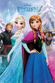 Disney Frozen - Snow Forest Maxi Poster (563)
