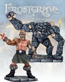 Frostgrave - Flesh Golem and Stone Construct