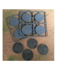 Renedra: 50mm Round Paved Effect Bases