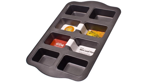 Non-Stick 8 Cup Mini Loaf Pan