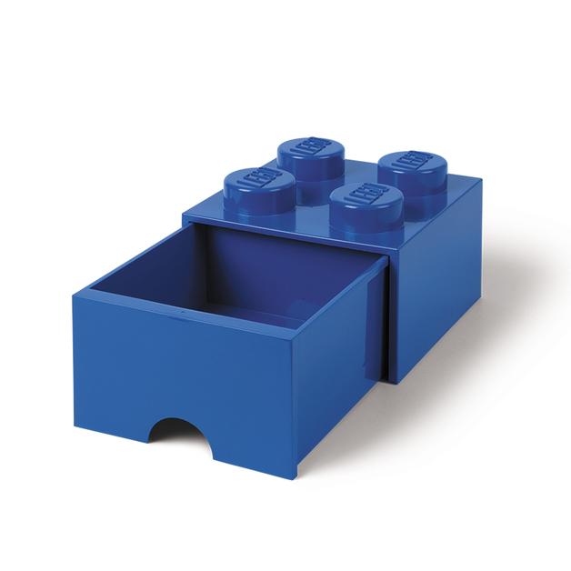 LEGO Storage Brick Drawer 4 (Blue)