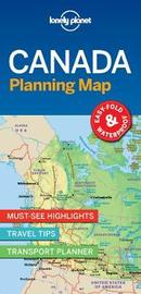 Canada Planning Map by Lonely Planet