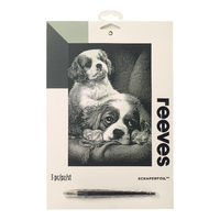 Reeves: Silver Scraperfoil - Spaniels