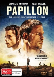Papillon (2018) on DVD