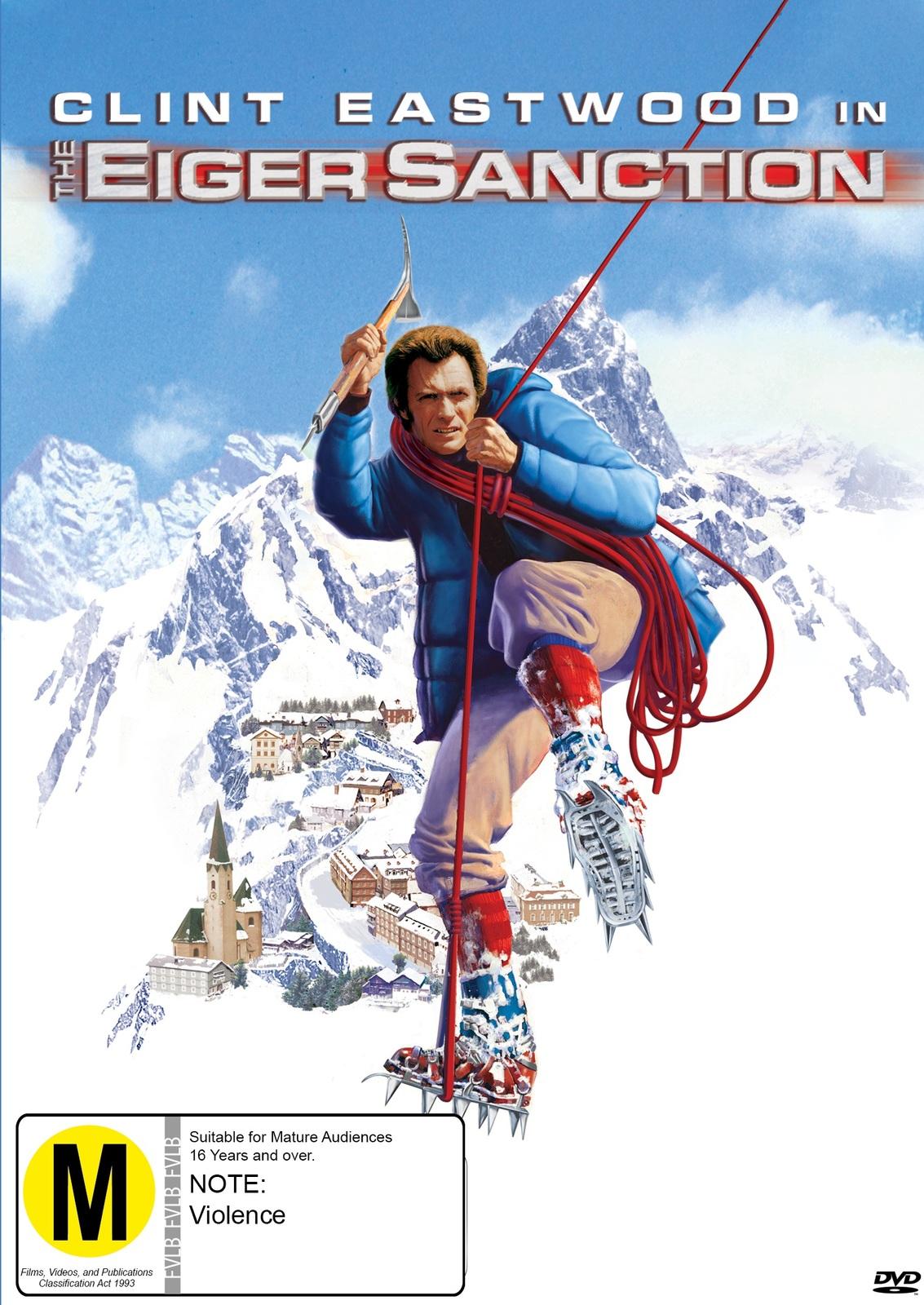 The Eiger Sanction on DVD image