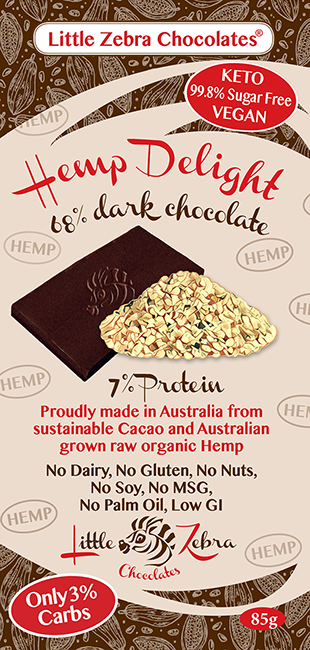 Little Zebra Chocolates: Hemp Delight