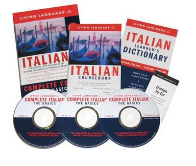 Italian Complete Course CD Programme by Living Language image