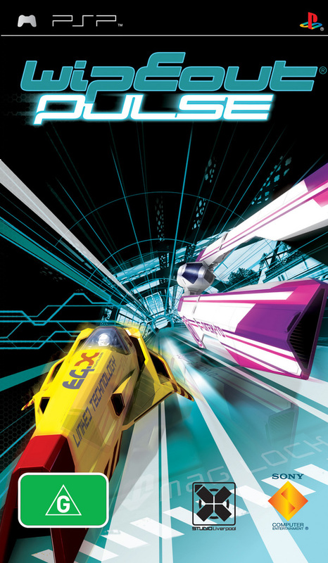 Wipeout Pulse (Essentials) for PSP