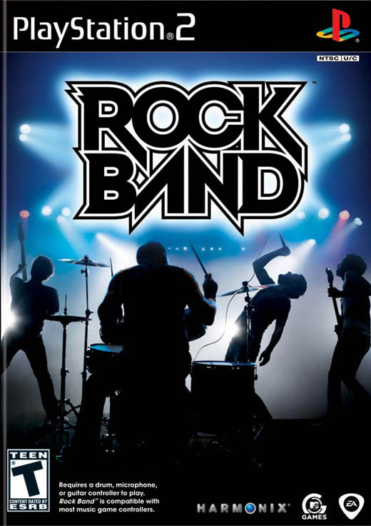 Rock Band (Software Only) for PS2