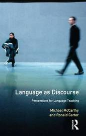 Language as Discourse by Michael McCarthy image