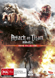 Attack On Titan Movie Collection DVD