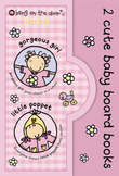 2 Cute Baby Board Books for Girls: Baby Books by Bang on the Door!