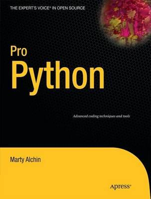 Pro Python by Marty Alchin image