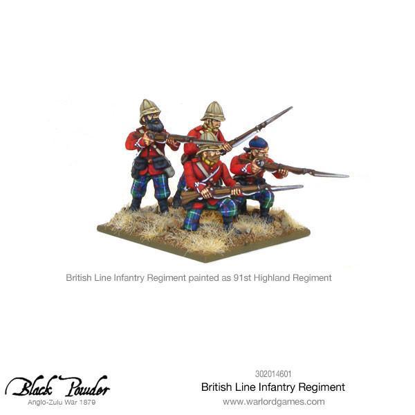 Anglo Zulu War British Line Infantry Regiment image
