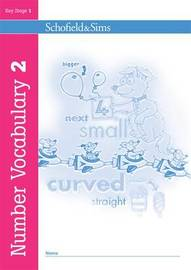 Number Vocabulary Book 2 by Sally Johnson image