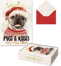 Molly & Rex: Pugs Boxed Cards (Box of 10)
