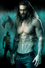 Justice League Aquaman Maxi Poster (812)
