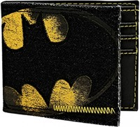 DC Comics: Batman Logo - Denim Bi-fold Wallet