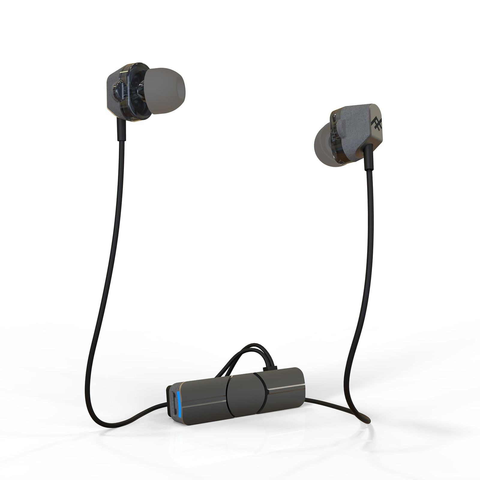 iFrogz: Impulse Duo -Dual Driver Wireless Earbuds-Charcoal/Black image