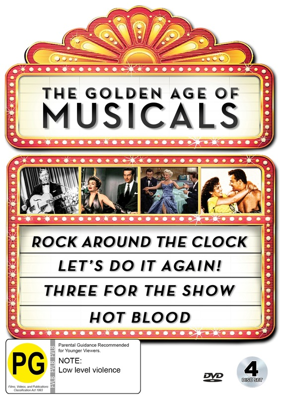 Golden Age Of Musicals Collection on DVD