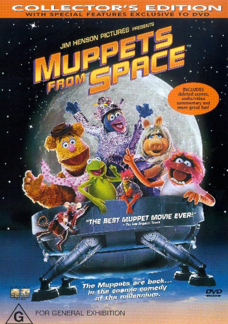 Muppets From Space on DVD image