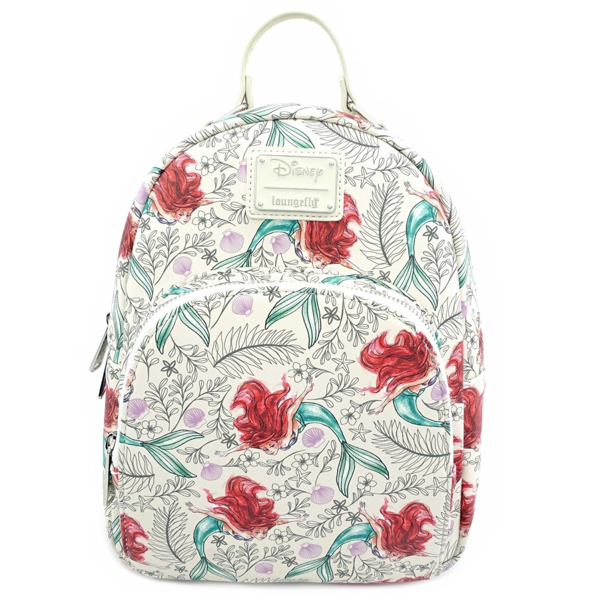 Loungefly: Little Mermaid - Ariel Sketch Print Mini Backpack image