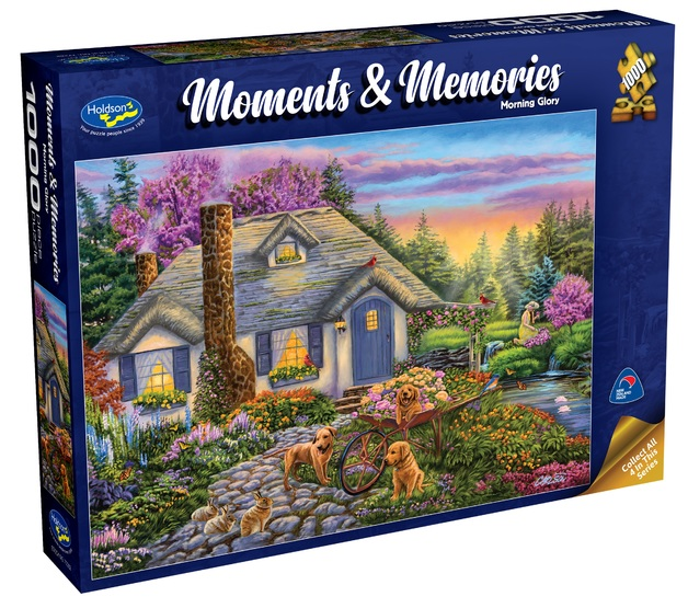 Holdson: 1000 Piece Puzzle - Moments & Memories S2 (Morning Glory)