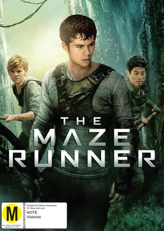 The Maze Runner on DVD