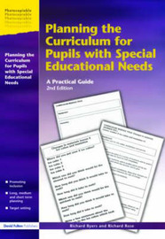 Planning the Curriculum for Pupils with Special Educational Needs by Richard Byers image