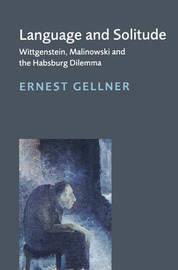 Language and Solitude by Ernest Gellner