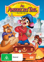 An American Tail on DVD