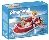 Playmobil Summer Fun - Swimmers with Raft (5439)