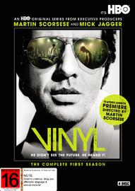 Vinyl Season 1 on DVD