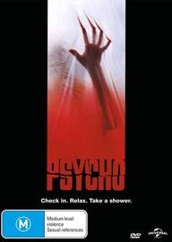 Psycho on DVD