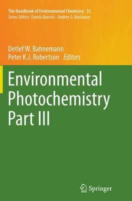 Environmental Photochemistry Part III image